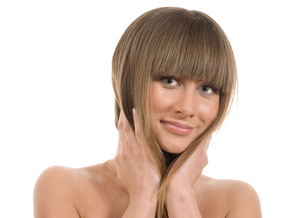 How To Cut Bangs With The Right Length And Shape Intended For Trendy Eye Covering Bangs Asian Hairstyles (View 4 of 20)