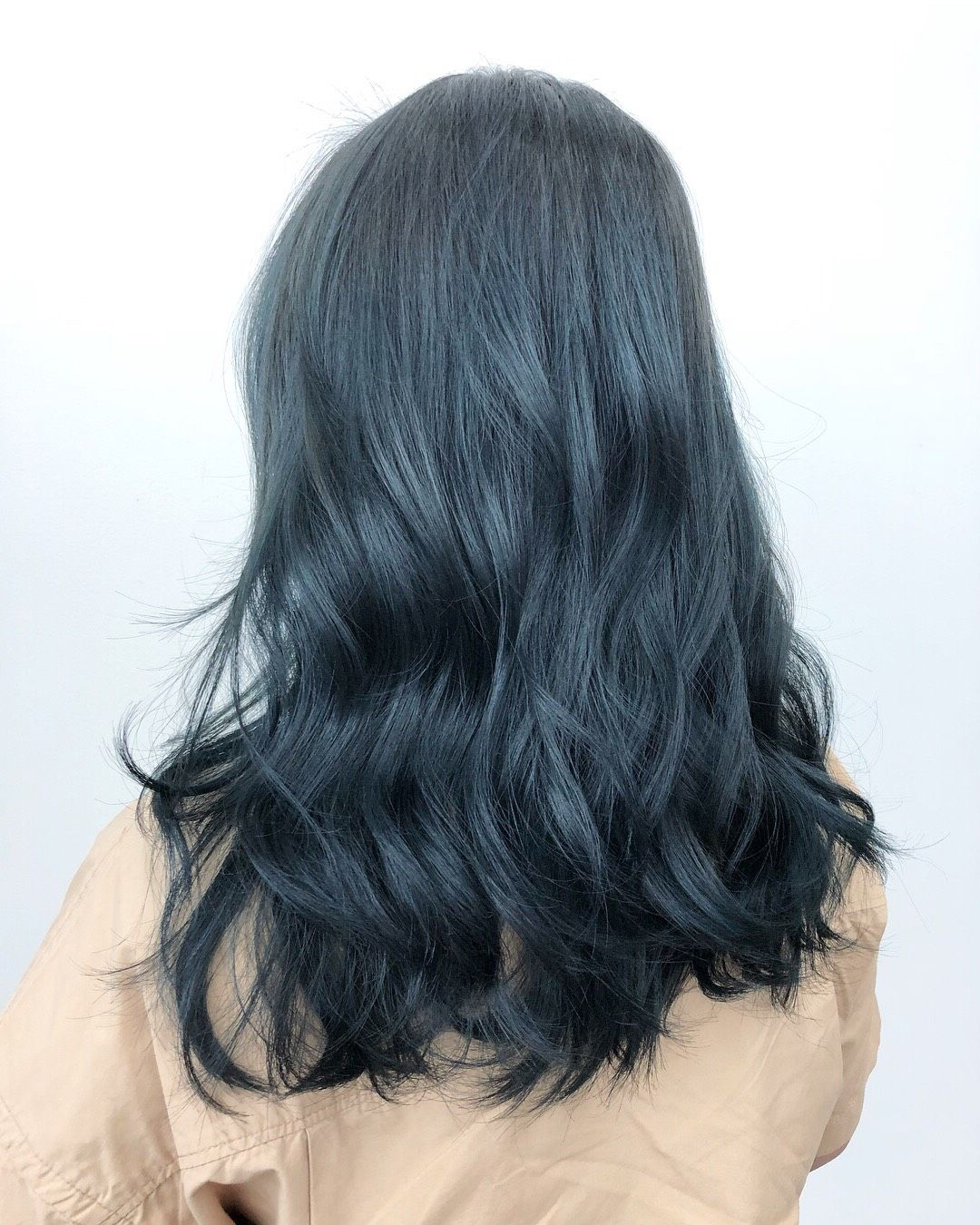 Latest Black And Denim Blue Waves Hairstyles Pertaining To Pacific Blue Inspiredthe Vast Pacific, Catch The Waves (View 10 of 20)