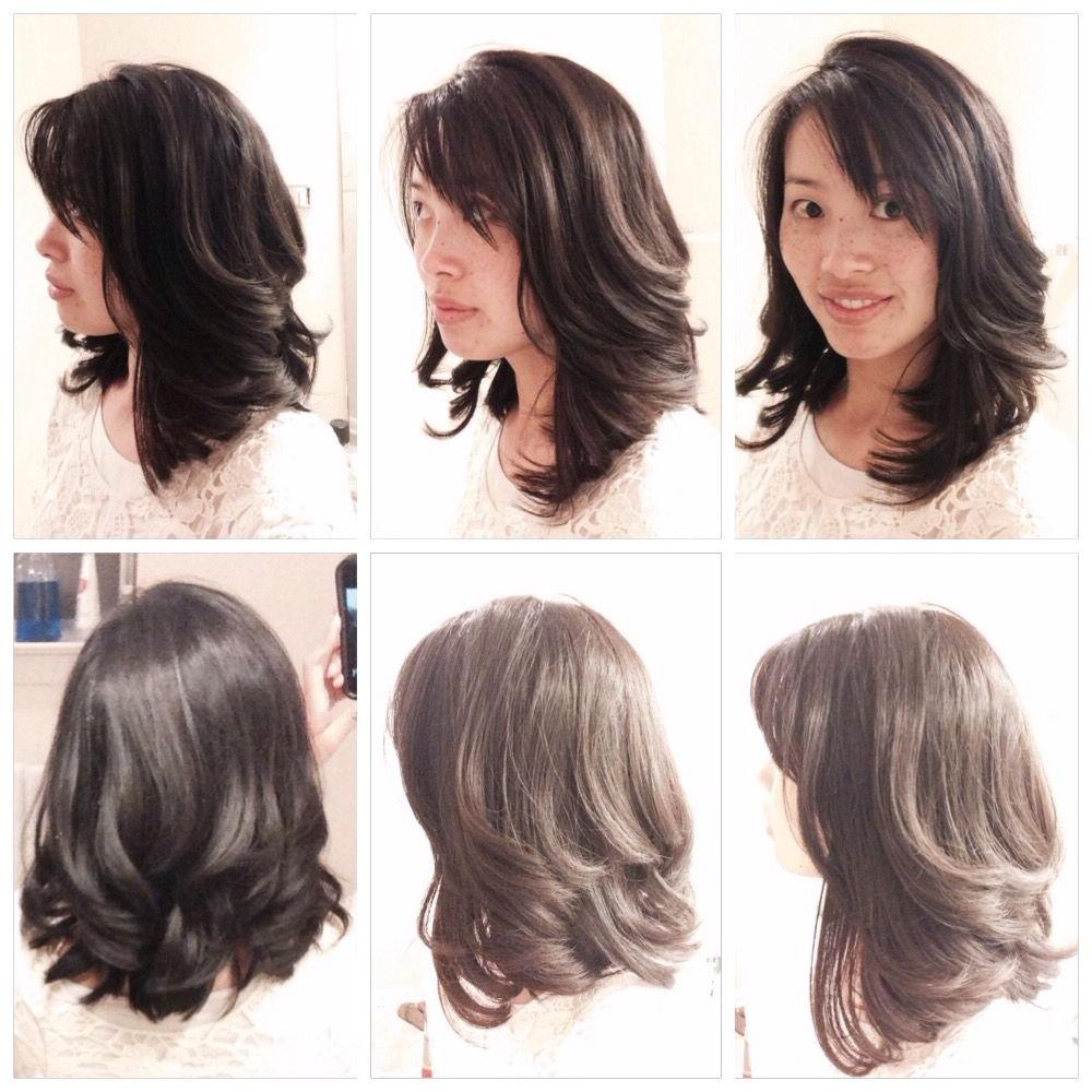 Latest Medium Length Bob Asian Hairstyles With Long Bangs Regarding Pin On Hair Styles (View 16 of 20)