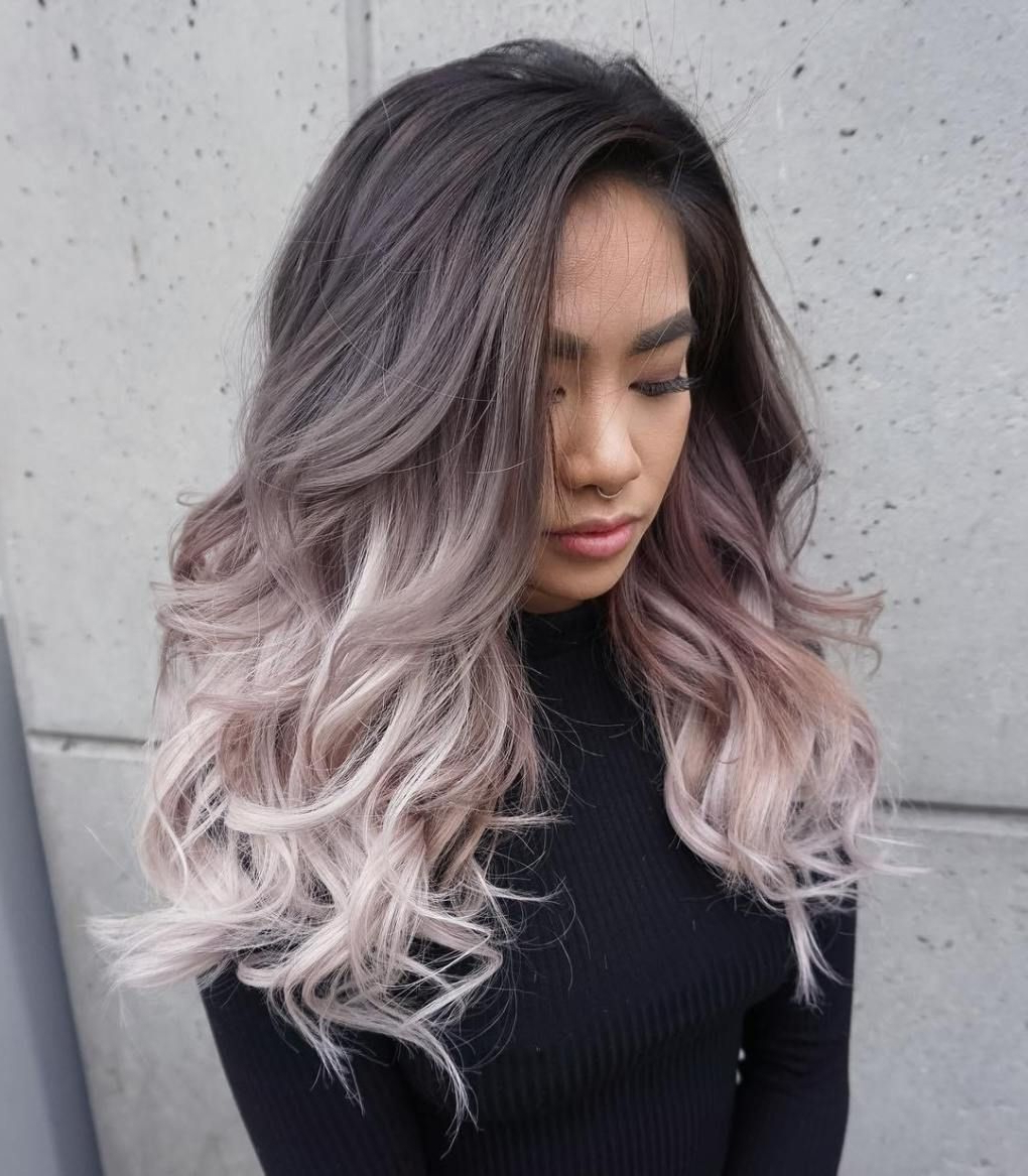 Latest Ravishing Smoky Purple Ombre Hairstyles Regarding 30 Modern Asian Hairstyles For Women And Girls In (View 2 of 20)