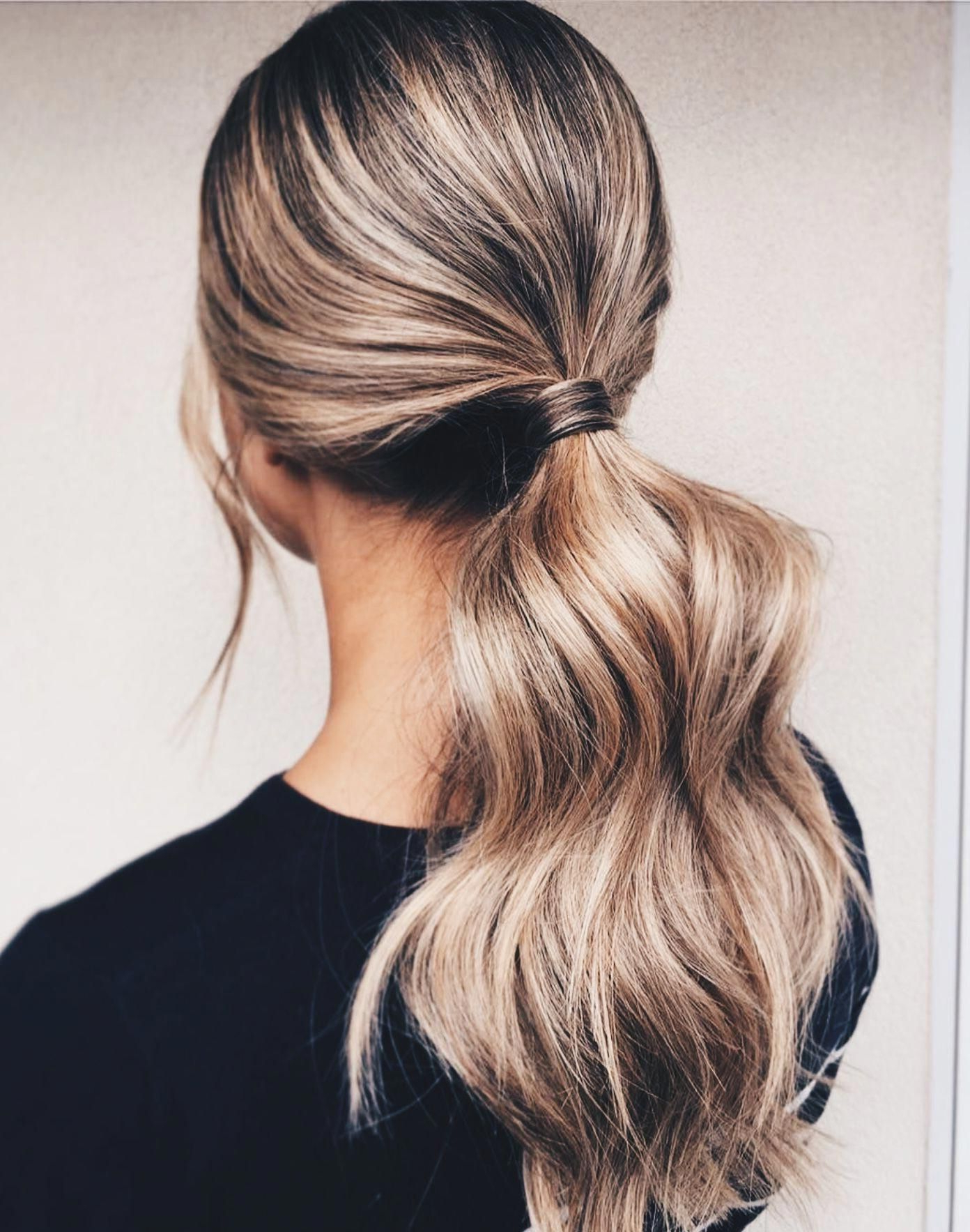 Like What You See? Follow Me For More: @nhairofficial Within Latest Messy Voluminous Ponytail Hairstyles With Textured Bangs (View 10 of 20)