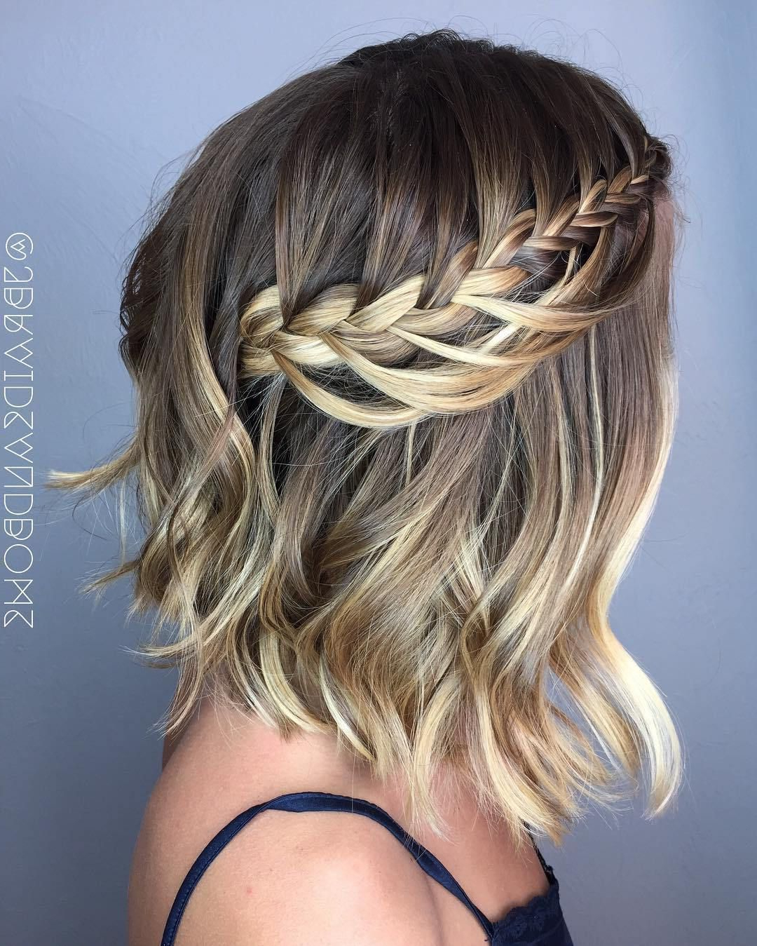Medium With Newest Braided Shoulder Length Hairstyles (View 12 of 20)