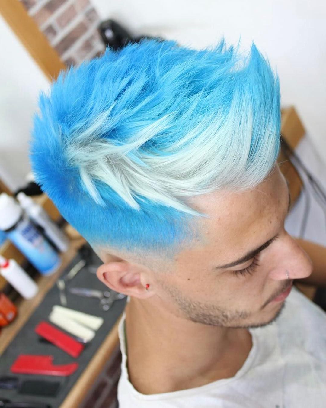 Men's Hair, Haircuts, Fade Haircuts, Short, Medium, Long Throughout Famous Turquoise Side Parted Mohawk Hairstyles (View 14 of 20)