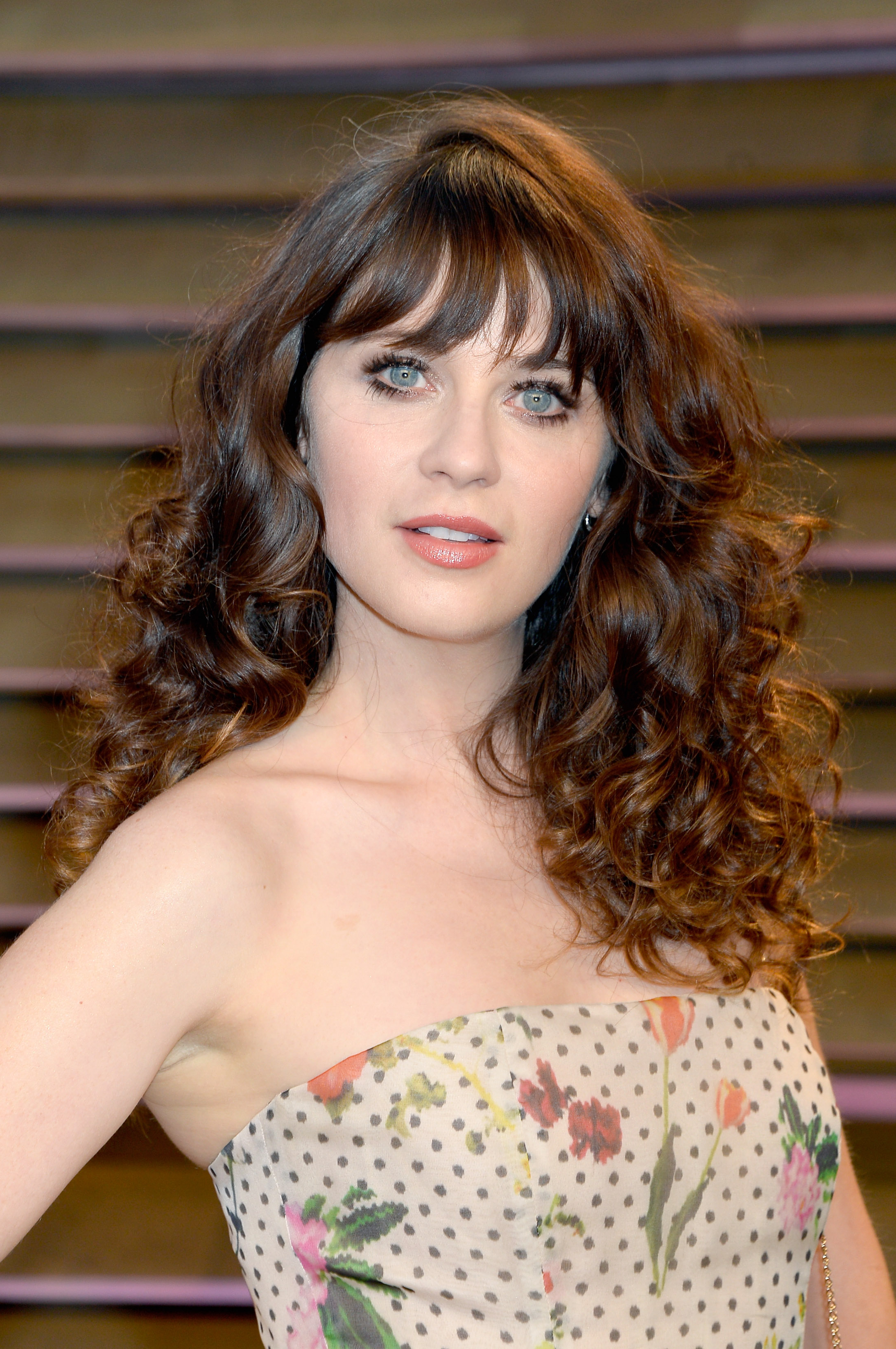 Most Current Long Hairstyles With Straight Fringes And Wavy Ends For Can You Have Bangs With Curly Hair? 6 Steps To Making Sure (View 16 of 20)