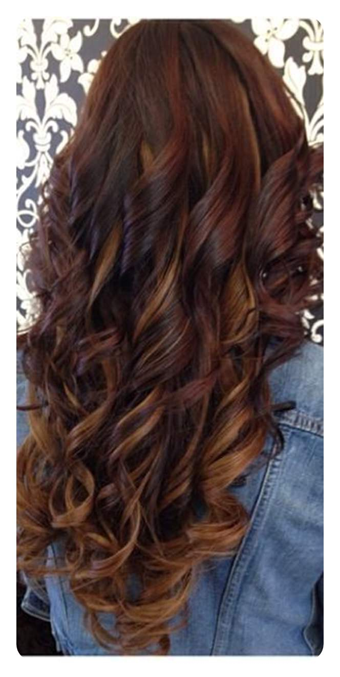 Most Popular Long Waves Hairstyles With Subtle Highlights Regarding 80 Stunning Red Hair With Highlights You Can Try Now (View 10 of 20)