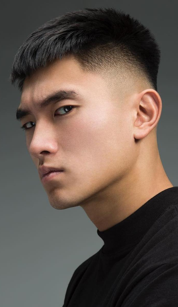 Most Recent Bold Asian Pixie Haircuts Regarding 15 Popular And Edgy Asian Hairstyles For Men – Styleoholic (View 8 of 20)