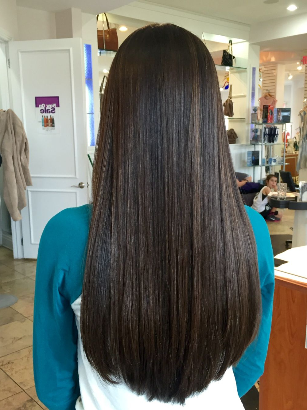 Most Recently Released Sleek Straight And Long Layers Hairstyles Regarding Pin On Hairpatricia Christie Windle (View 15 of 20)