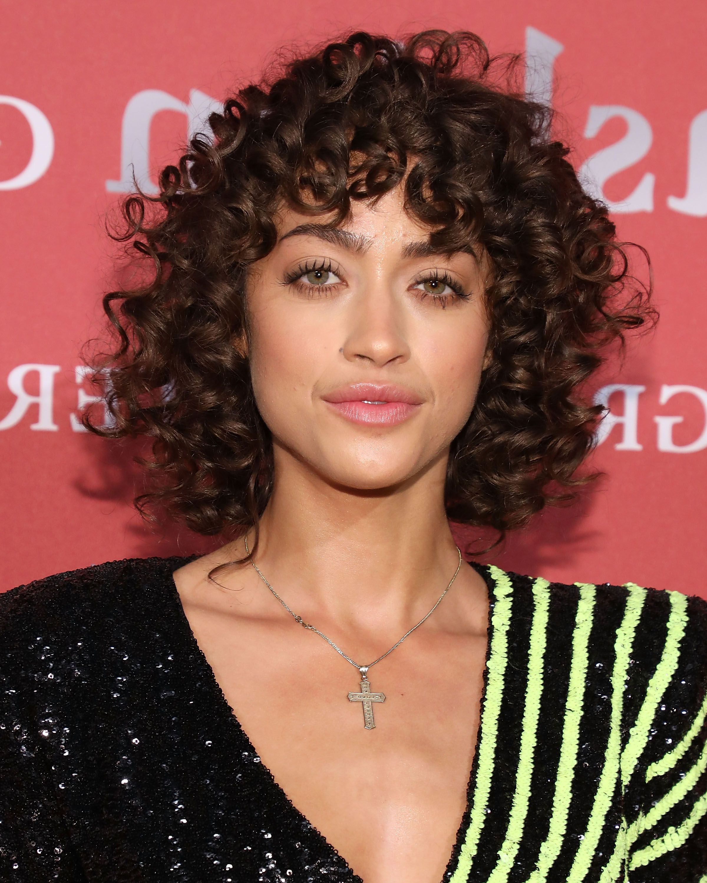Most Recently Released Soft Highlighted Curls Hairstyles With Side Part Throughout 25 Short Curly Hairstyles Ideas – 25 Short Curls Celebrity (View 14 of 20)