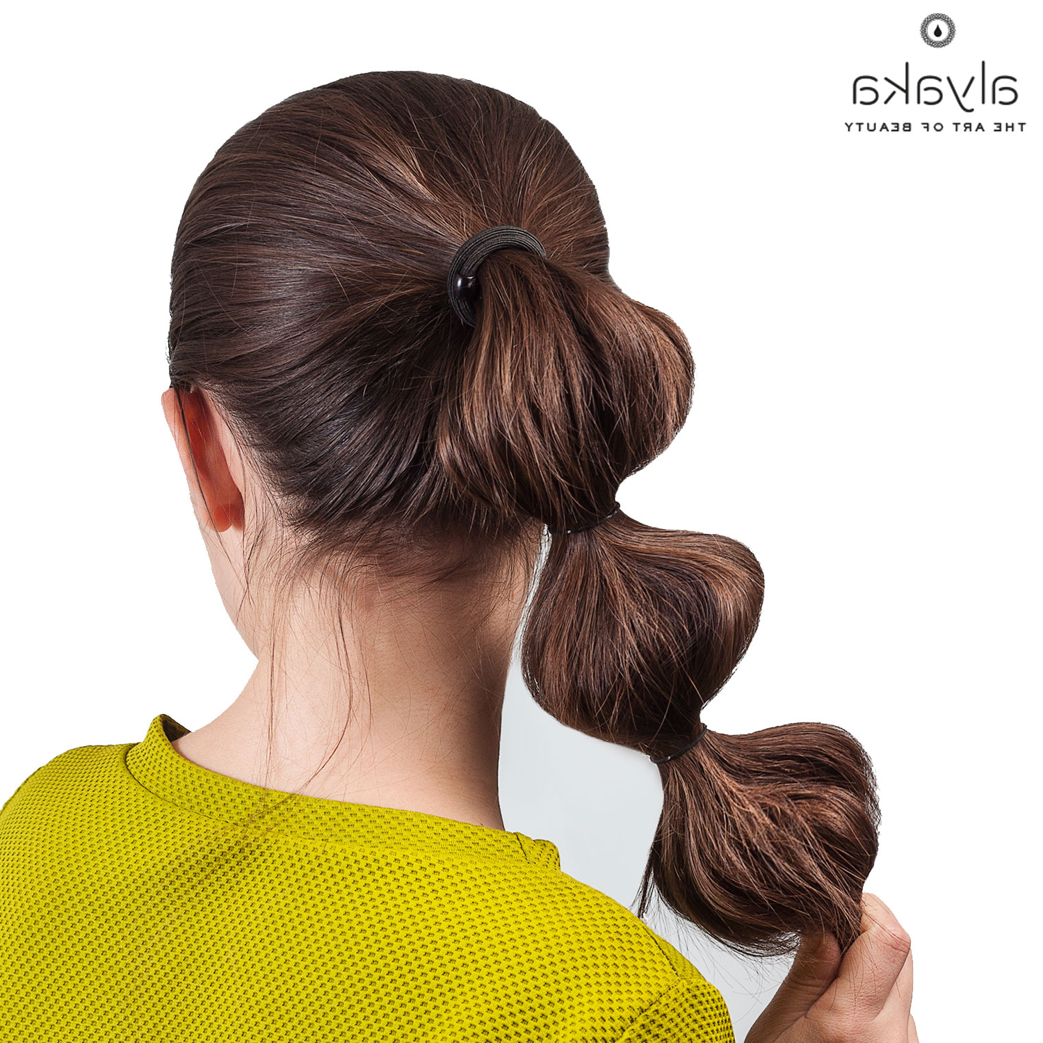 Most Up To Date High Looped Ponytail Hairstyles With Hair Wrap With Regard To 22 Easy Hairstyles For Busy Women (View 17 of 20)