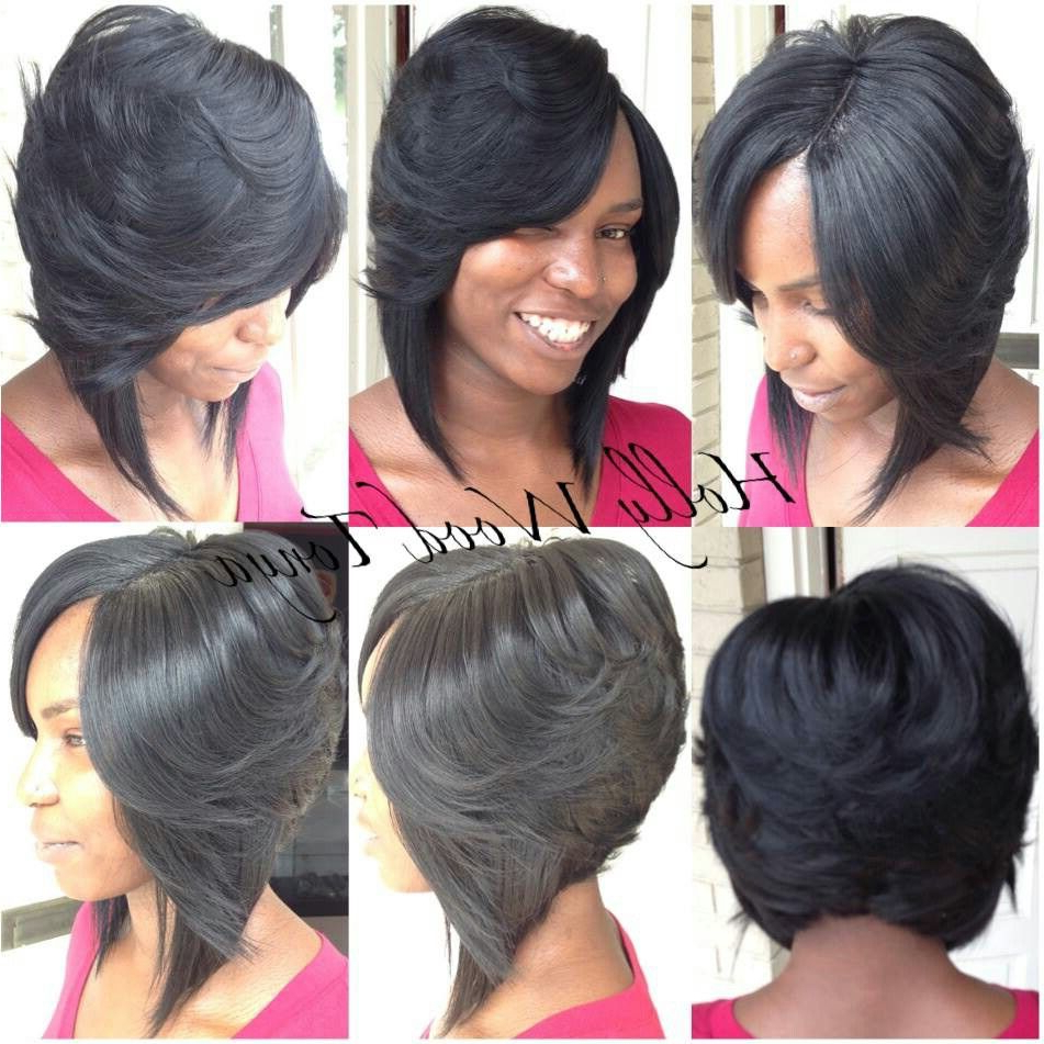 Most Up To Date Sweet And Adorable Chinese Bob Hairstyles With Sew In Bob W/invisible Part (View 6 of 20)