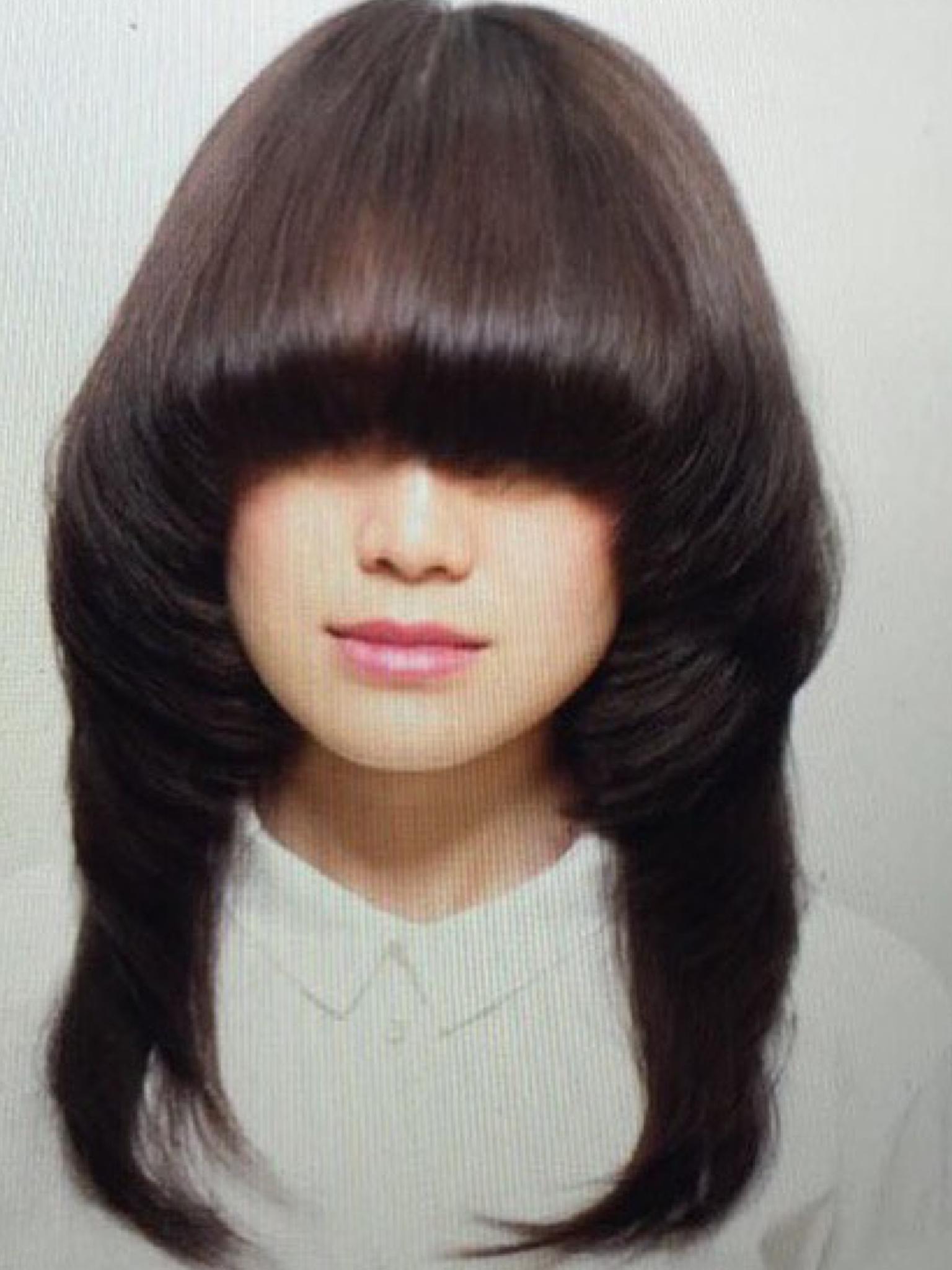 Newest Eye Covering Bangs Asian Hairstyles Regarding Pin On Bangs Covering Both Eyes/blinding Bangs (View 1 of 20)