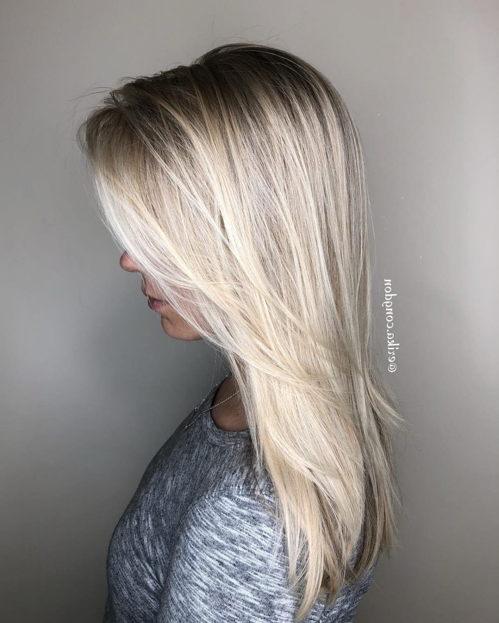 Newest Long Layered Hairstyles With Added Sheen Inside 36 Perfect Hairstyles For Long Thin Hair (trending For 2019!) (View 11 of 20)