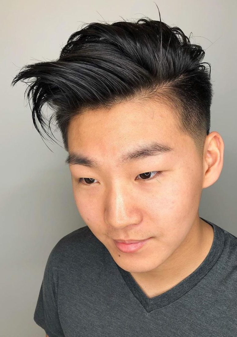 Newest Textured Pixie Asian Hairstyles Within 15 Popular And Edgy Asian Hairstyles For Men – Styleoholic (View 14 of 20)