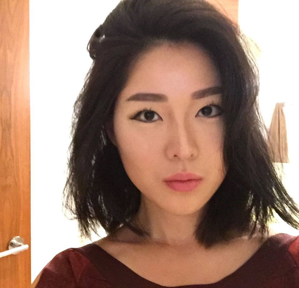 Pin On Hair In Trendy Blunt Bangs Asian Hairstyles (Gallery 9 of 10)