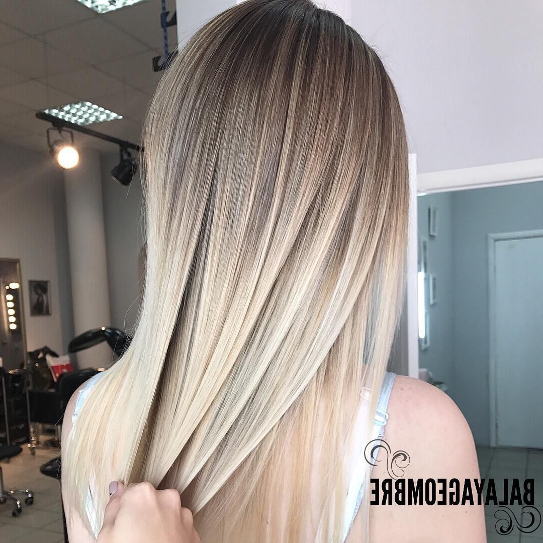 Pin On Hair Inspo With Regard To Best And Newest Sleek Straight And Long Layers Hairstyles (View 18 of 20)