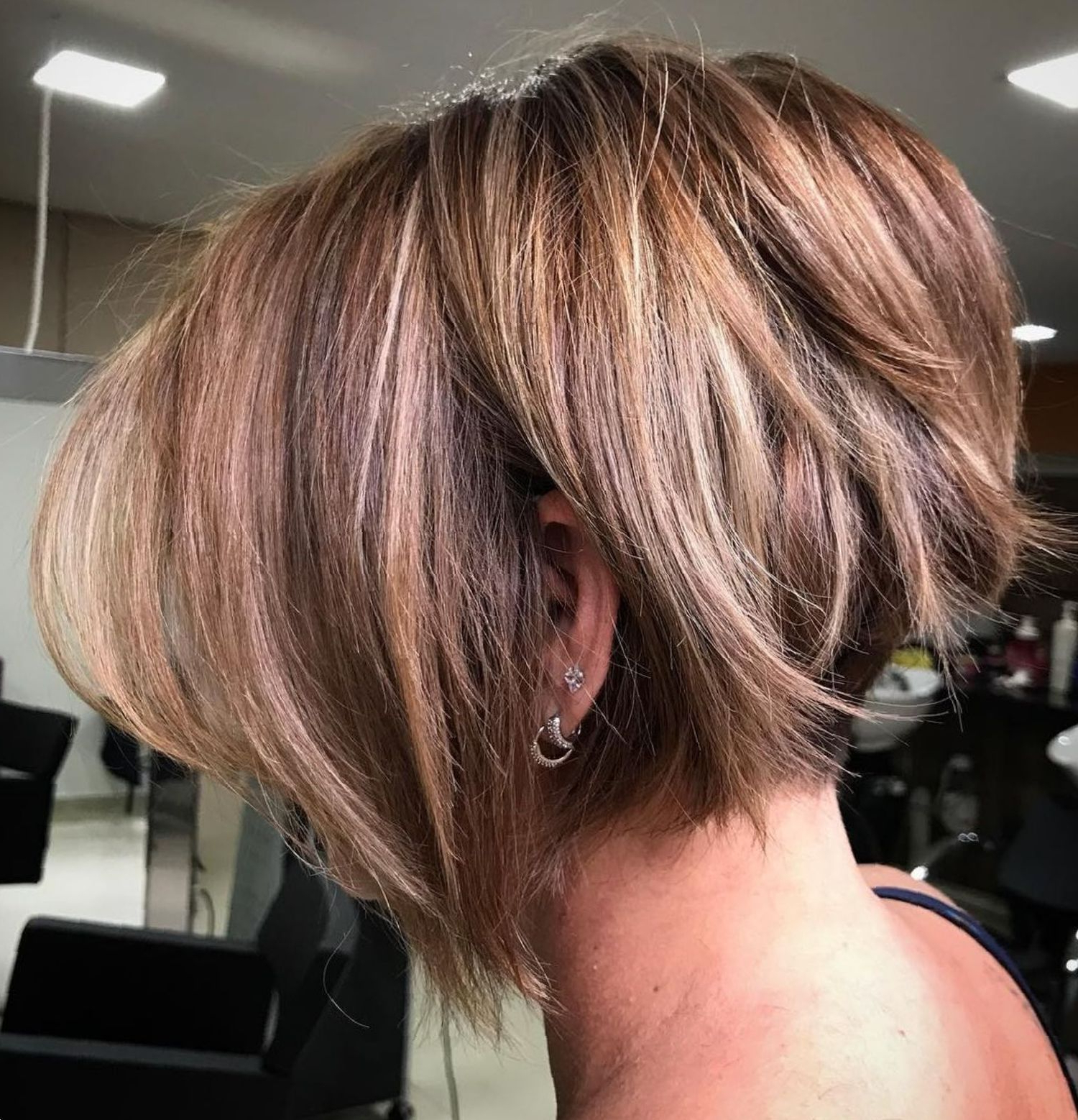 Pin On Hair Regarding Current Very Short Stacked Bob Hairstyles With Messy Finish (View 13 of 20)