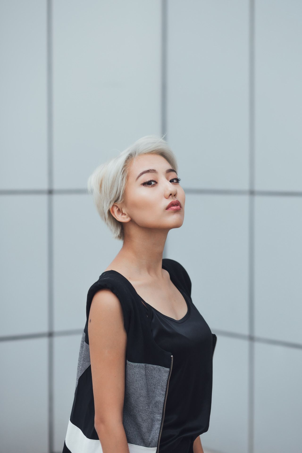 Pin On Hair Throughout Latest Bold Asian Pixie Haircuts (View 10 of 20)