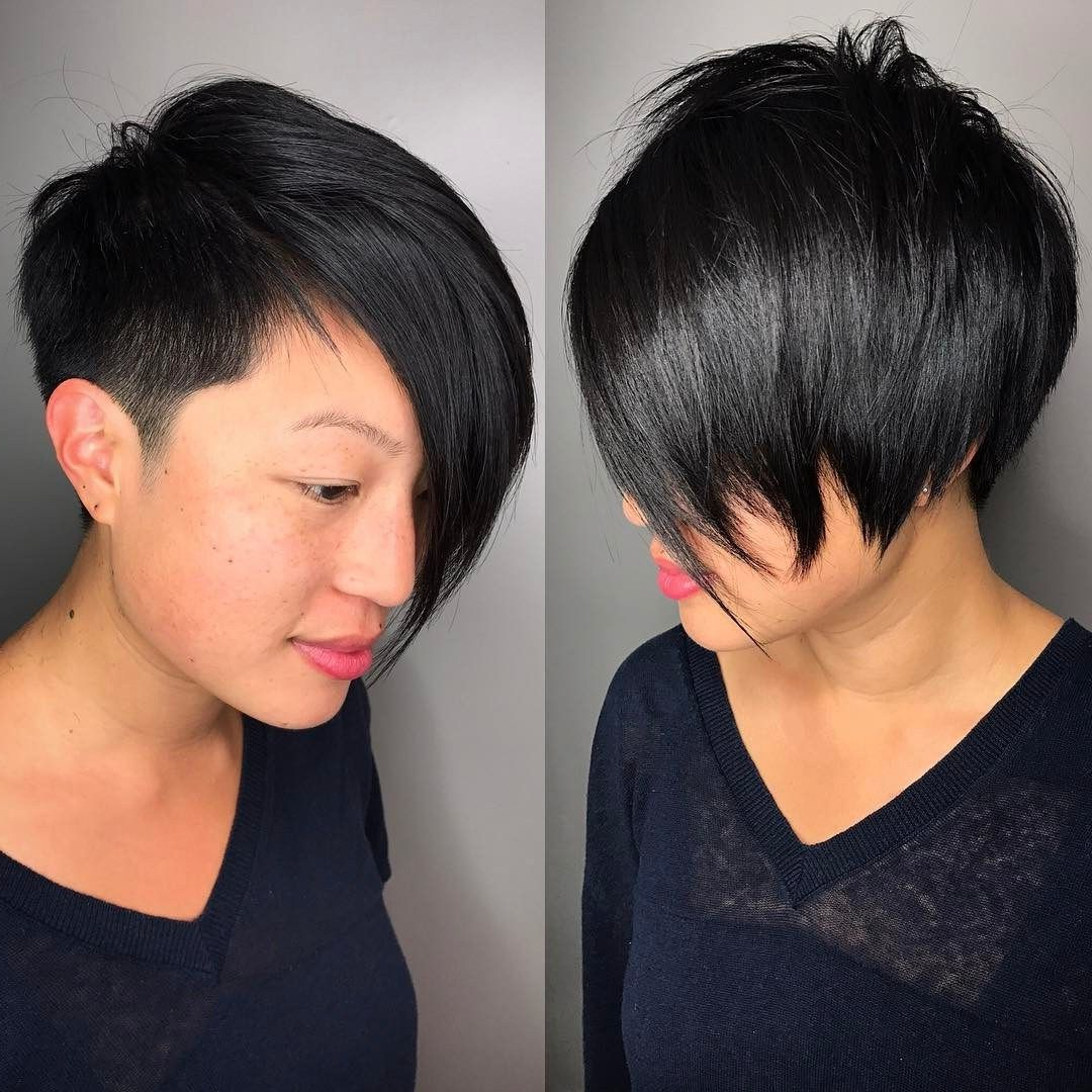 Pin On My Style In Well Known Bold Asian Pixie Haircuts (Gallery 7 of 20)