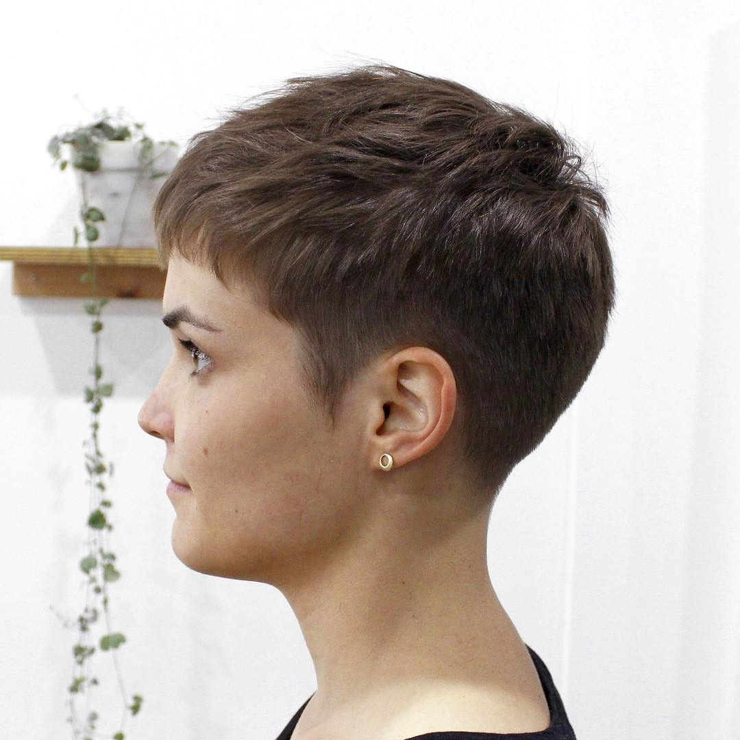 Pin On Short Hairstyles With Most Recently Released Very Short Boyish Bob Hairstyles With Texture (View 2 of 20)