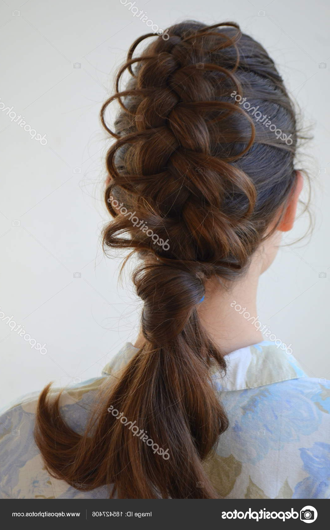 Popular Braided Shoulder Length Hairstyles Intended For Openwork French Braid Hairstyle Medium Length Mastery (View 19 of 20)