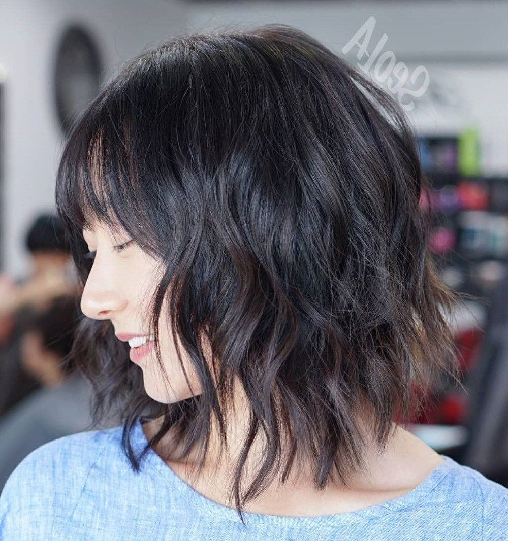 Popular Modern Shaggy Asian Hairstyles Inside 60 Most Universal Modern Shag Haircut Solutions In (View 4 of 20)