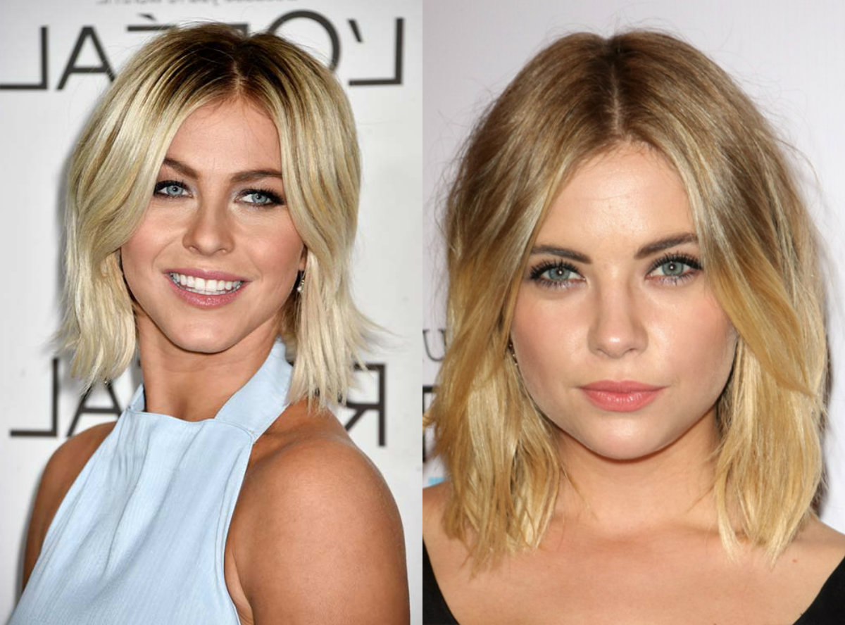 Preferred Blunt Wavy Bob Hairstyles With Center Part With Saucy Center Part Bob Hairstyles (Gallery 4 of 20)