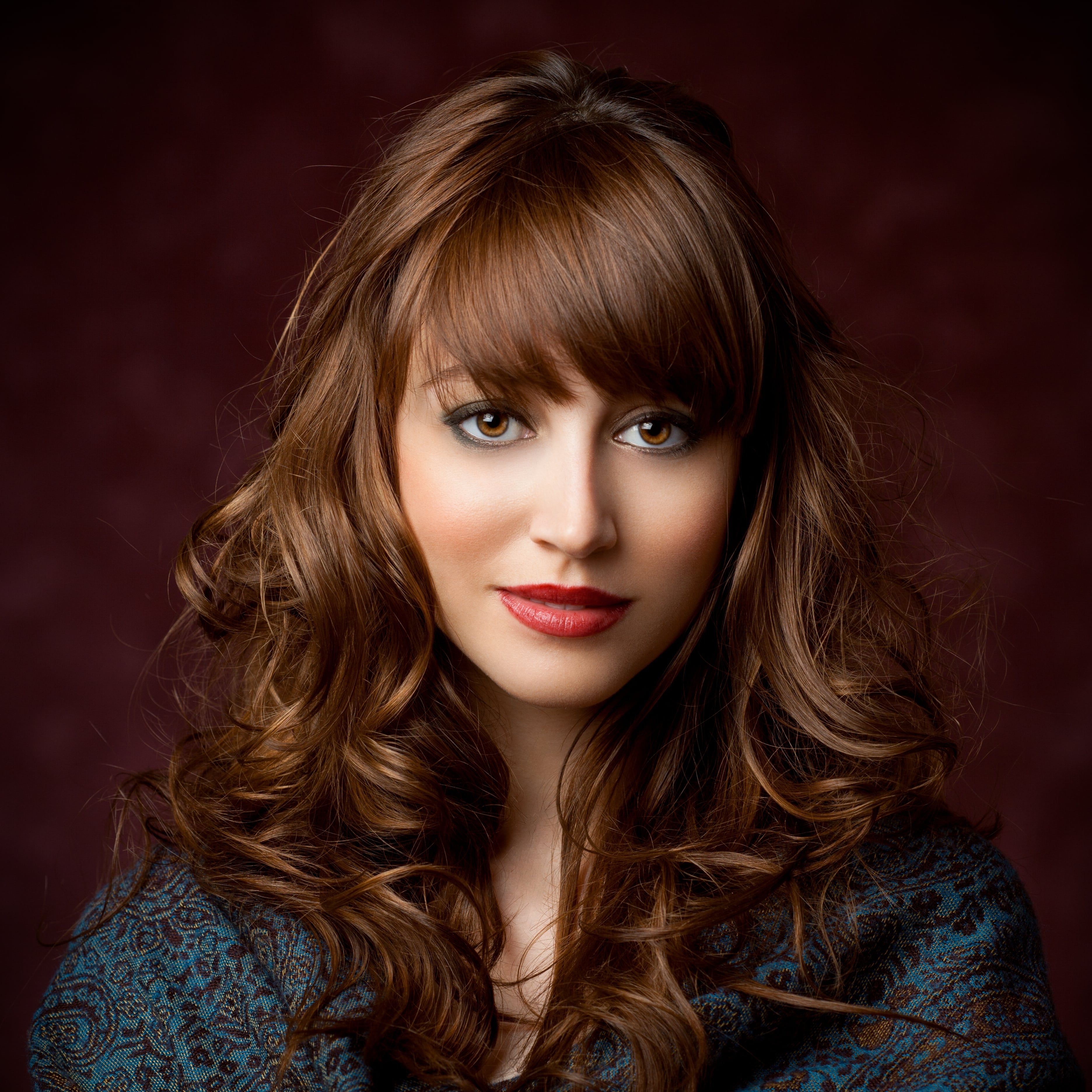 Preferred Long Hairstyles With Straight Fringes And Wavy Ends With Curly Hair Bangs: 9 Trendy Hairstyle Ideas And Styling Tips (View 15 of 20)