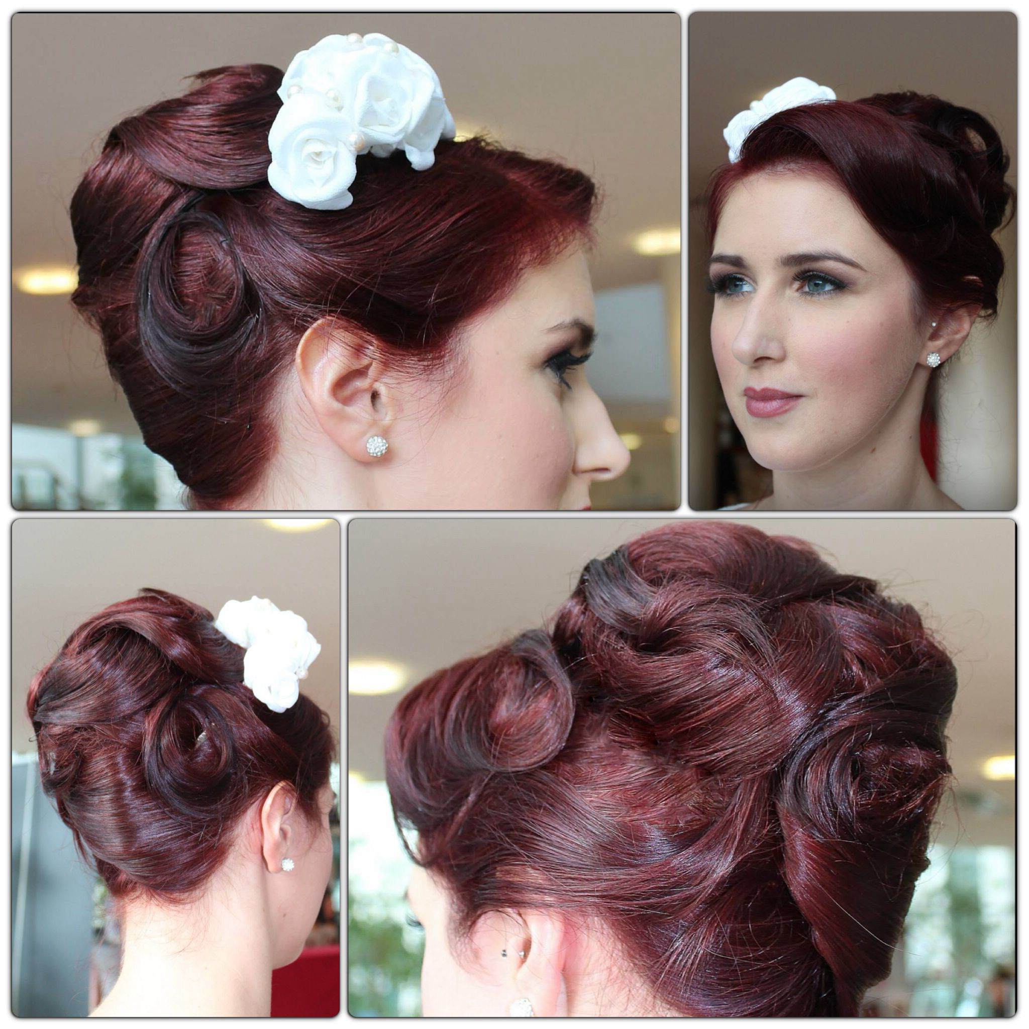 Preferred Retro Side Hairdos With Texture Within Pin On Vintage Looks (Gallery 6 of 20)
