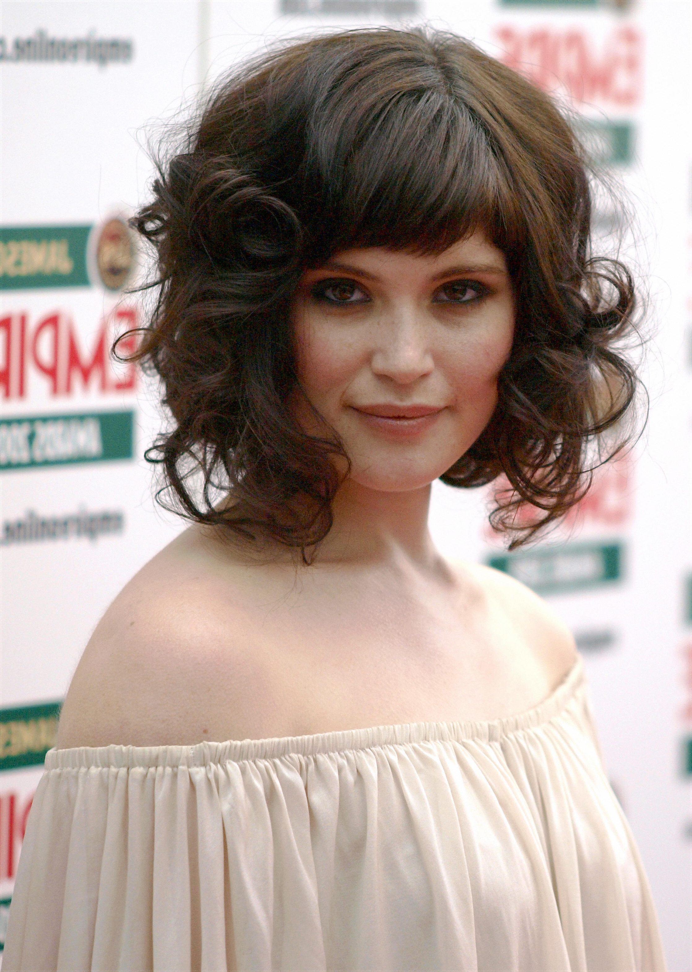 Preferred Soft And Casual Curls Hairstyles With Front Fringes For Can You Have Bangs With Curly Hair? 6 Steps To Making Sure (Gallery 14 of 20)