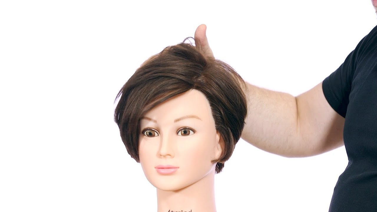 Preferred Very Short Boyish Bob Hairstyles With Texture Pertaining To Short Layered Bob Haircut Tutorial – Thesalonguy (Gallery 12 of 20)