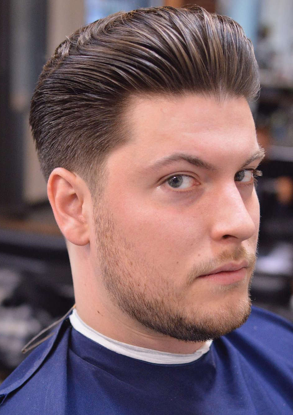 Recent Long Hairstyles With Slicked Back Top Inside 30+ Slicked Back Hairstyles: A Classy Style Made Simple + Guide (View 5 of 20)