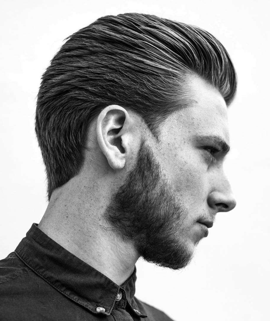 Recent Long Hairstyles With Slicked Back Top With Regard To 30+ Slicked Back Hairstyles: A Classy Style Made Simple + Guide (View 1 of 20)