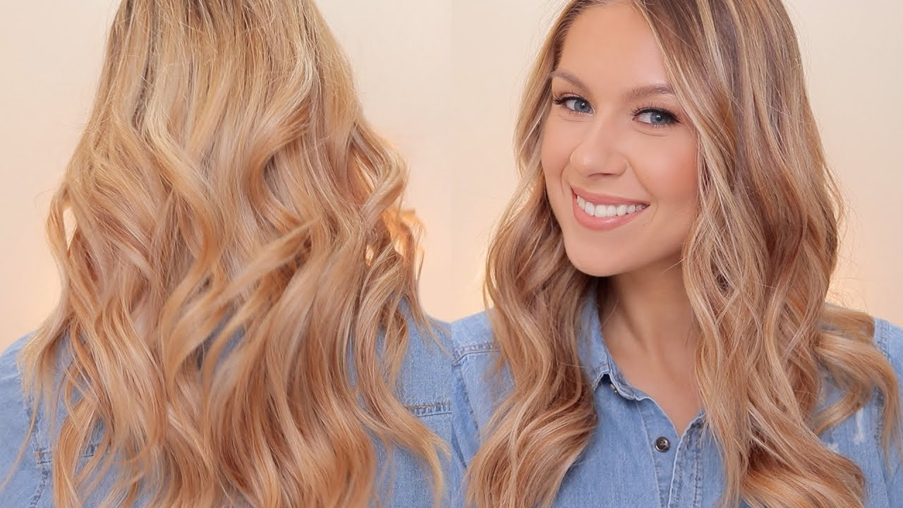 Relaxed Waves Hair Tutorial Pertaining To Most Up To Date Loose Flowy Curls Hairstyles With Long Side Bangs (View 8 of 20)