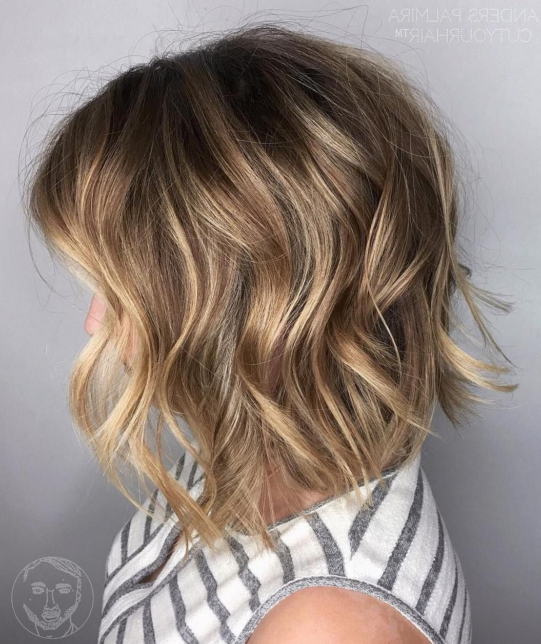 Show Within Trendy Long Waves Hairstyles With Subtle Highlights (View 8 of 20)