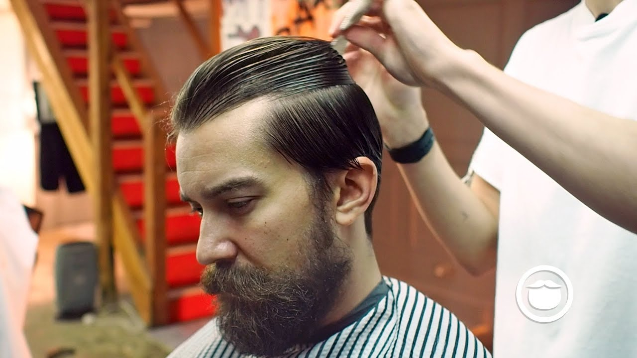 Slicked Back Hairstyle For Thick Hair (View 18 of 20)