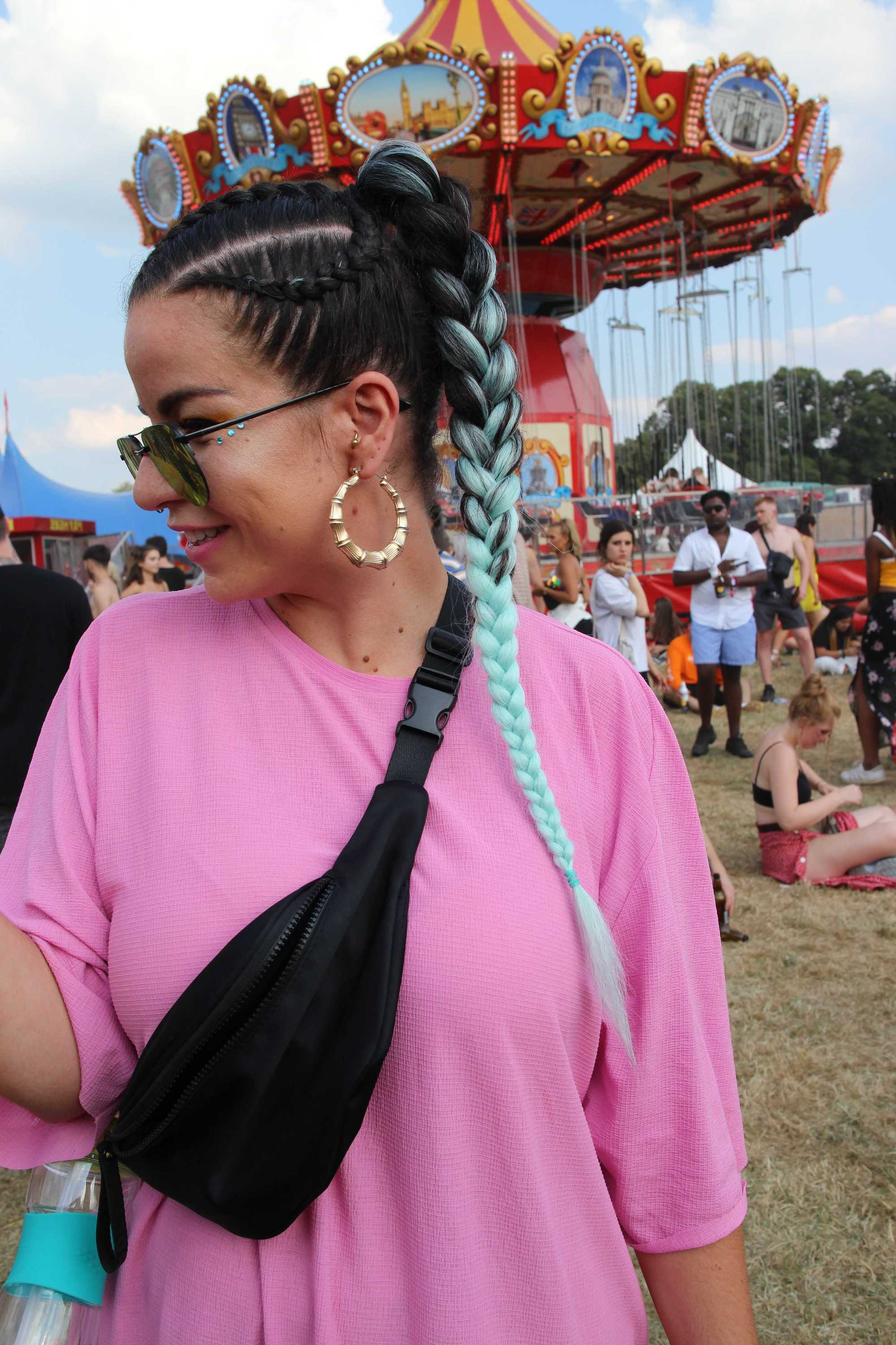 Trendy Blue Braided Festival Hairstyles Within 19 Festival Braids It Girls Will Be Wearing This Summer (View 18 of 20)