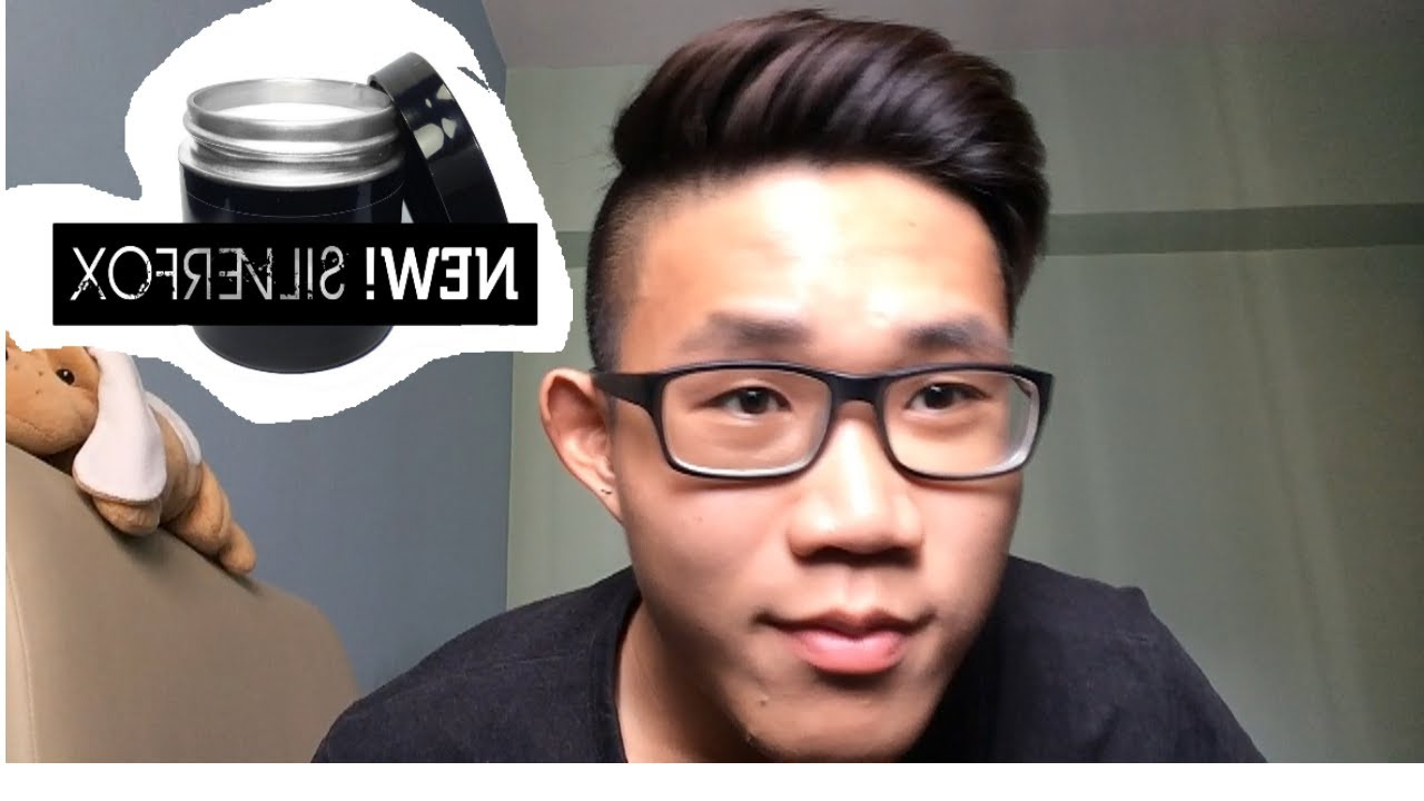Trendy Cool Silver Asian Hairstyles Regarding Men's Side Quiff (View 18 of 20)
