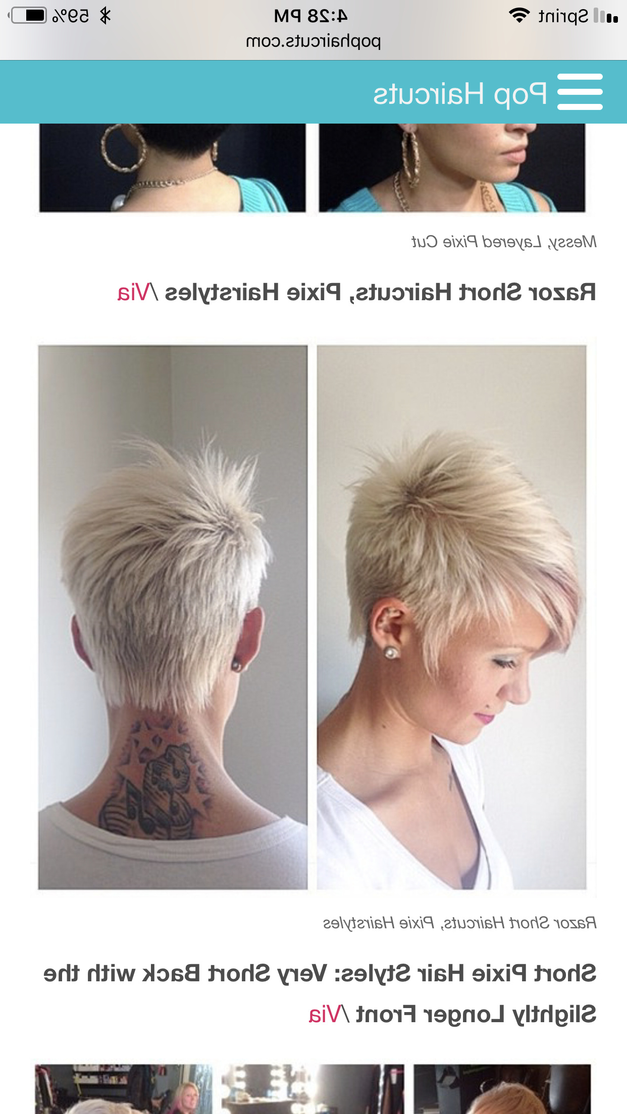 Trendy Messy Pixie Asian Hairstyles With Hairstyles : Messy Pixie Cut Amazing Pinsophie On My (View 11 of 20)