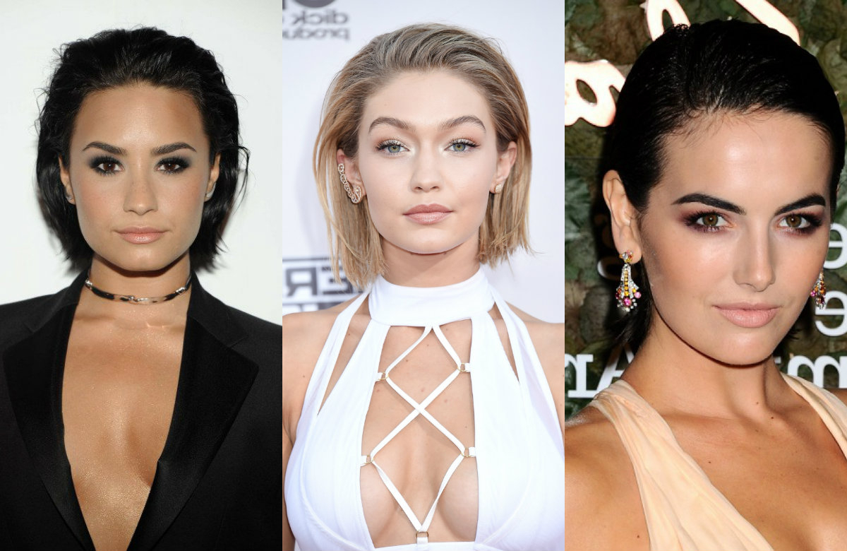 Trendy Slicked Back Bob Hairstyles  (View 16 of 20)