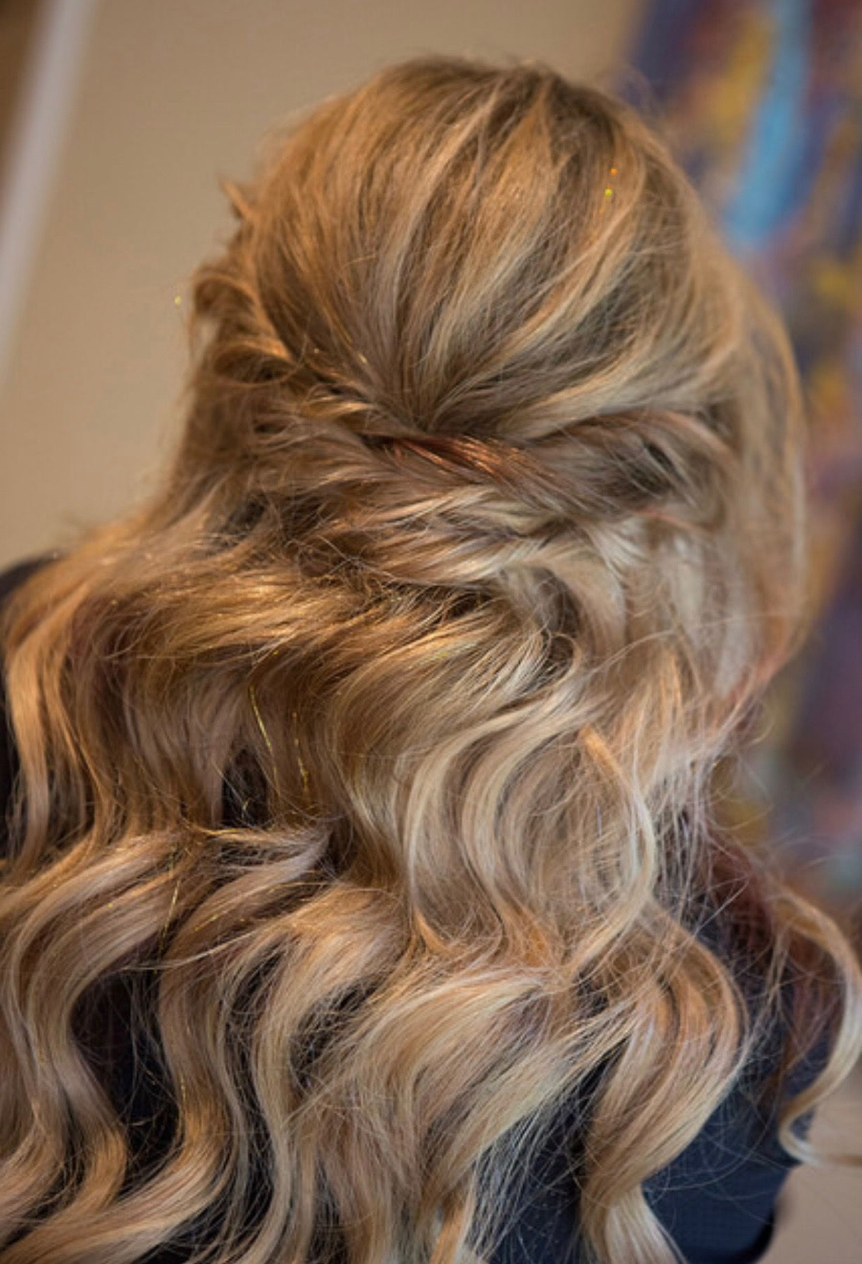 Twisted Textured Half Up Half Down With Fancy Waves & Luxy Throughout Favorite Retro Side Hairdos With Texture (View 17 of 20)