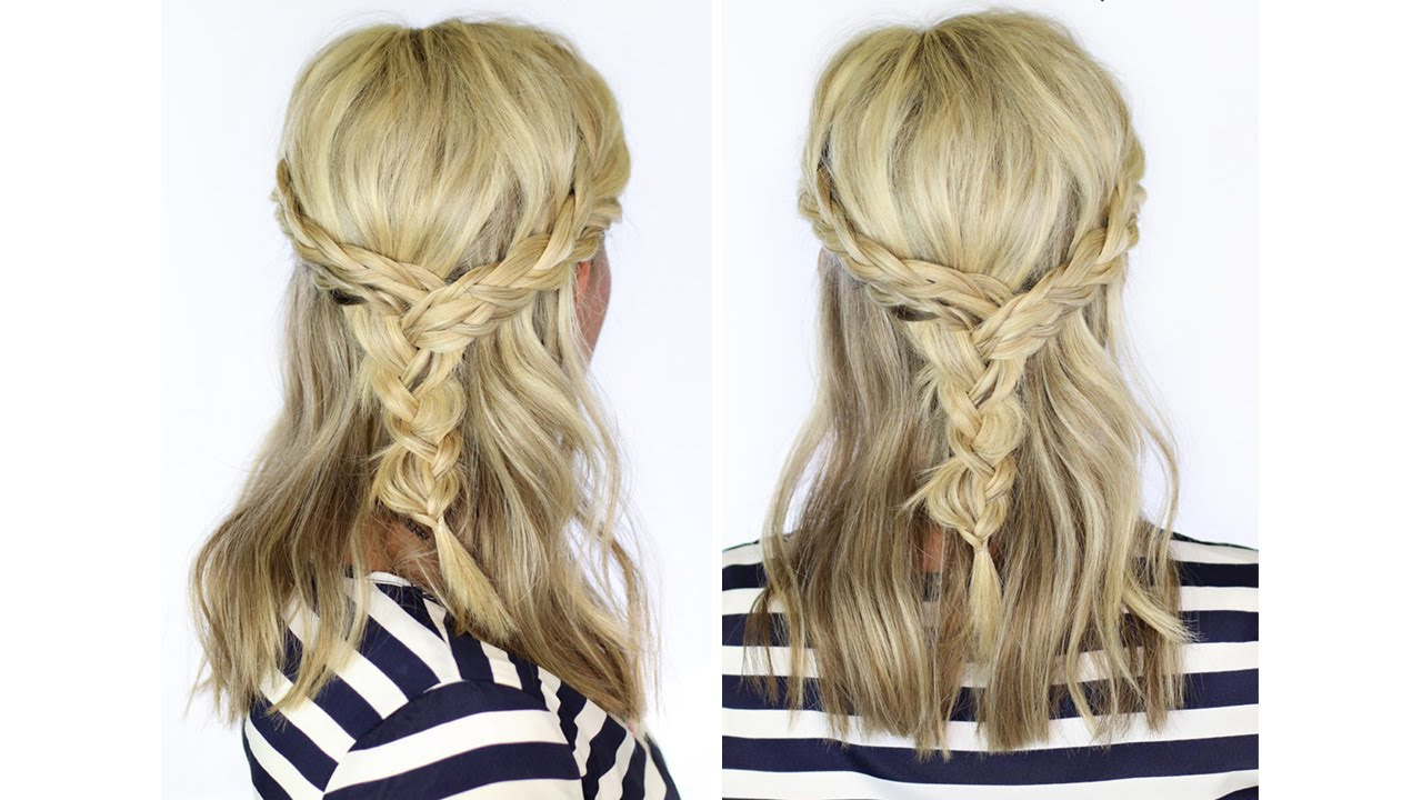 Well Known Braided Shoulder Length Hairstyles With Beautiful Braid For Medium Length Hair (View 8 of 20)