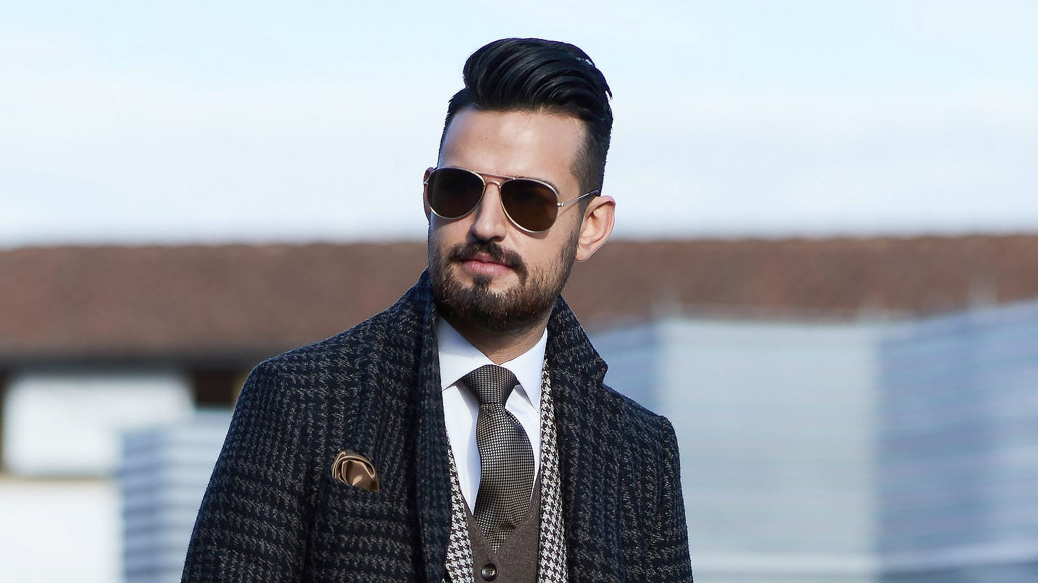 Well Known Long Hairstyles With Slicked Back Top In 20 Best Slicked Back Hairstyles For Men – The Trend Spotter (Gallery 20 of 20)