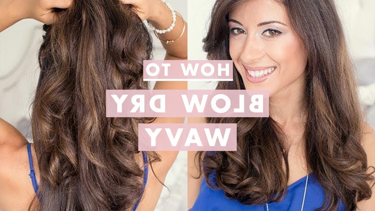 Well Known Loose Waves Hairstyles With Twisted Side For How To: Blow Dry Wavy (Gallery 7 of 20)