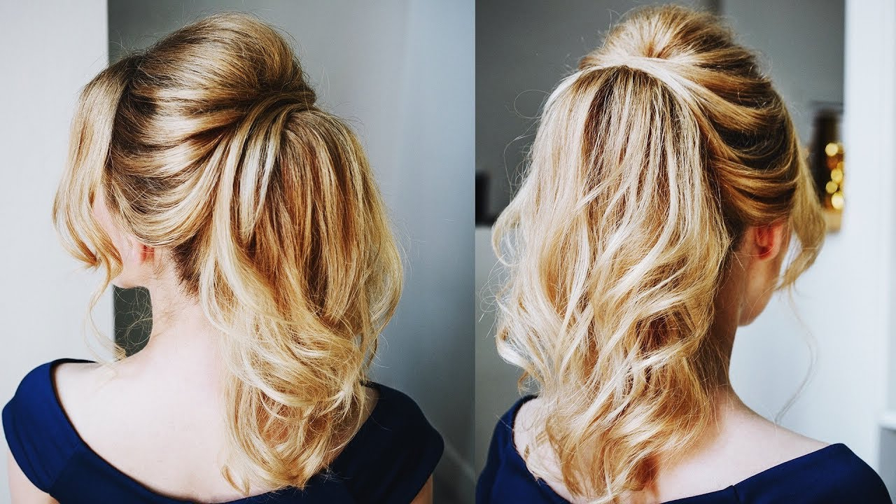 Well Known Messy Voluminous Ponytail Hairstyles With Textured Bangs Intended For How To Create Big Volume With Thin Hair In A Ponytail (View 18 of 20)