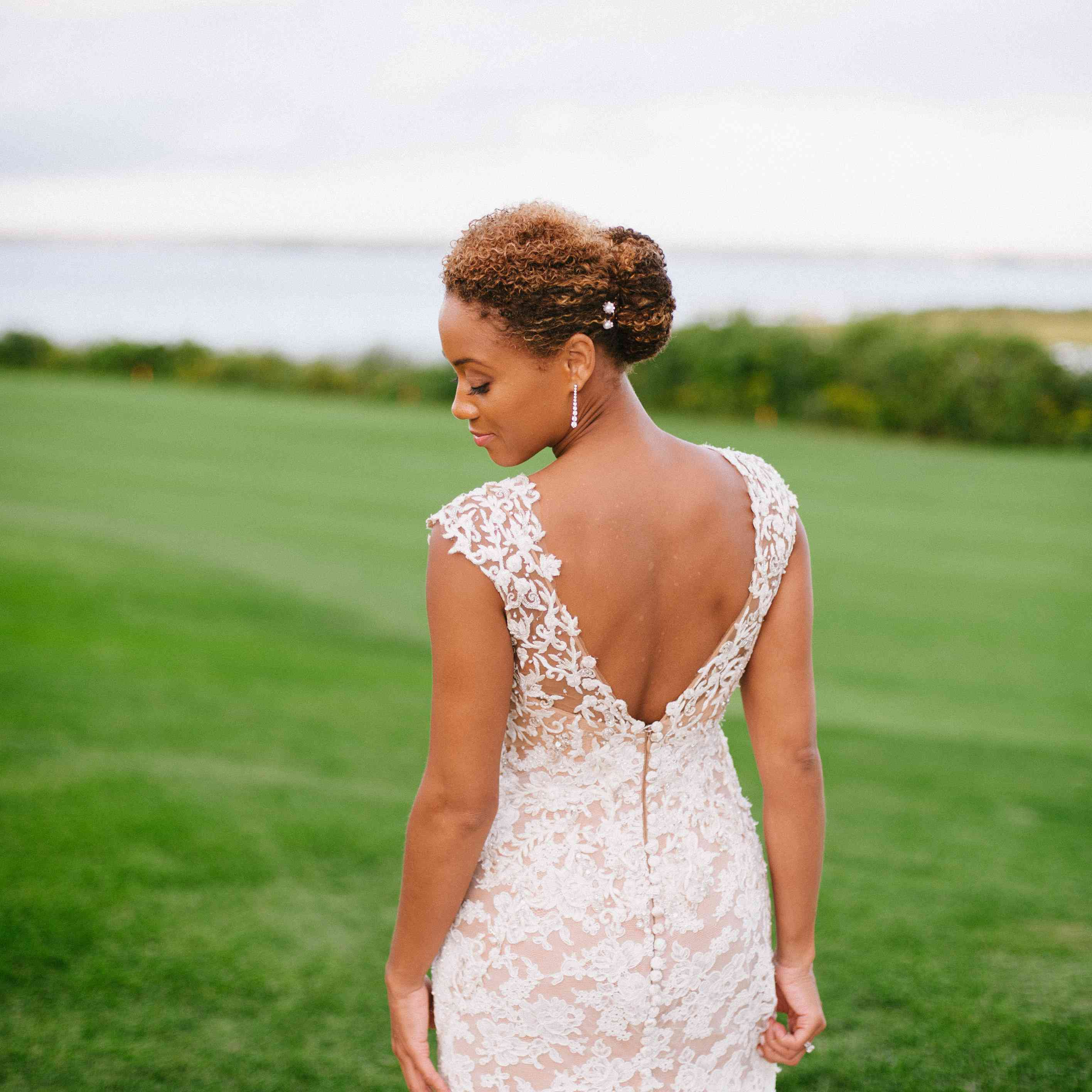 Well Known Sleek High Bun Hairstyles With Side Sweep With The 60 Prettiest Bridal Hairstyles From Real Weddings (View 17 of 20)