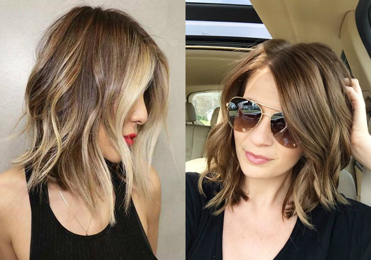 Well Known Wavy Long Bob Hairstyles With Bangs Throughout Trendy Lob Hairstyles You Can Have Today (View 5 of 20)