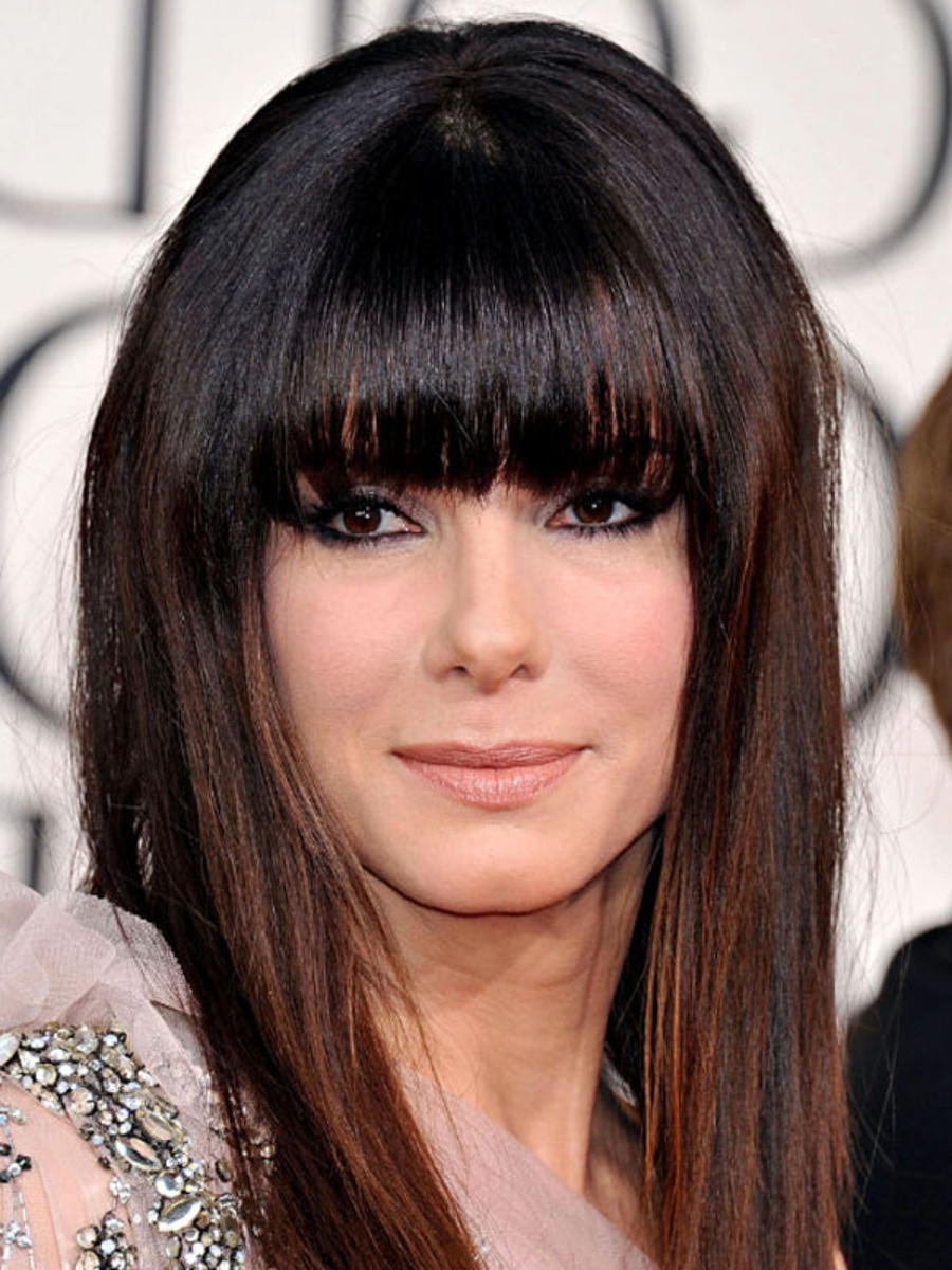 Well Liked Eye Covering Bangs Asian Hairstyles Pertaining To The Best (and Worst) Bangs For Square Face Shapes – The (View 13 of 20)