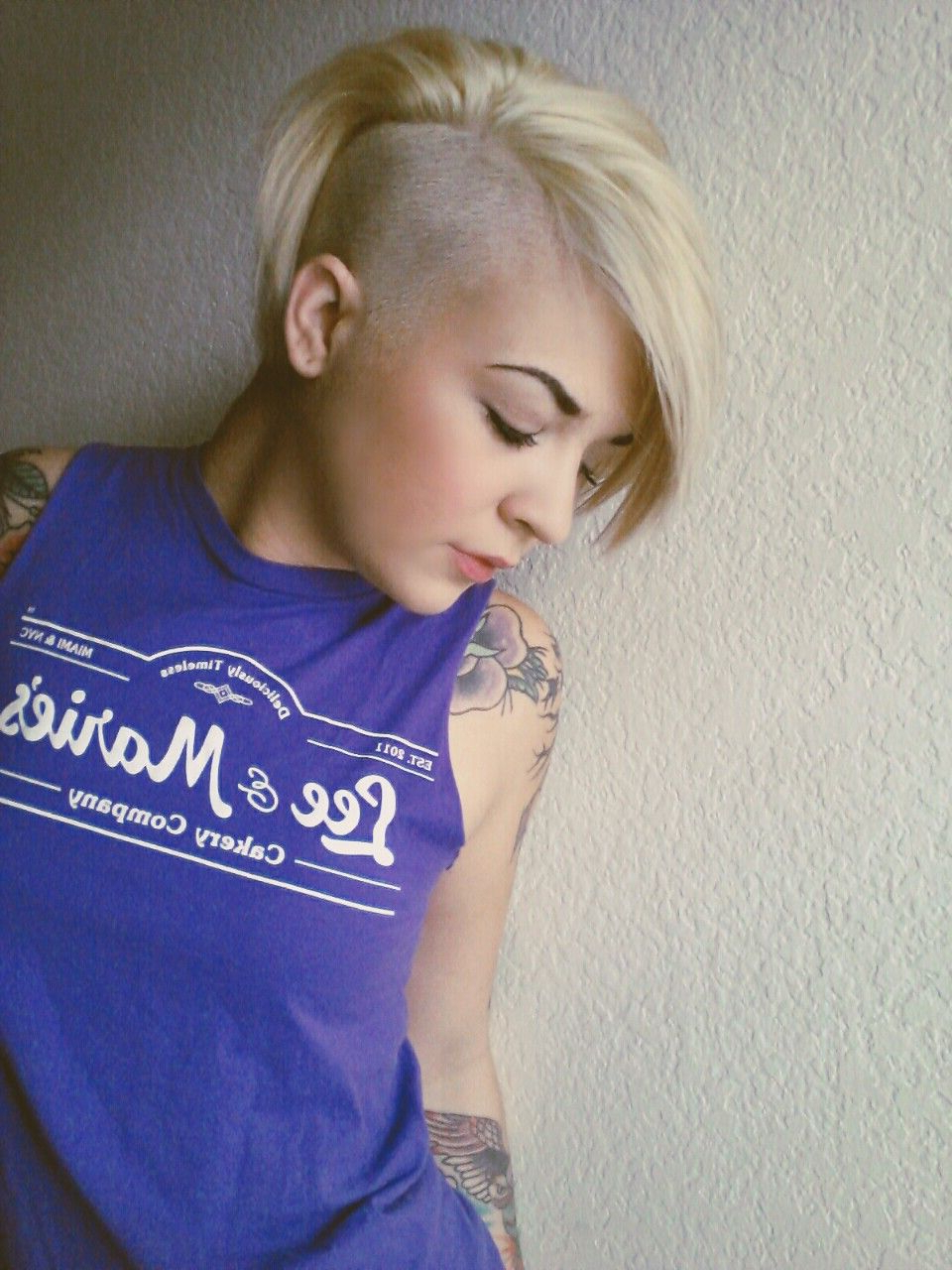 Well Liked Icy Purple Mohawk Hairstyles With Shaved Sides In Pin On Suicidegirls (View 18 of 20)