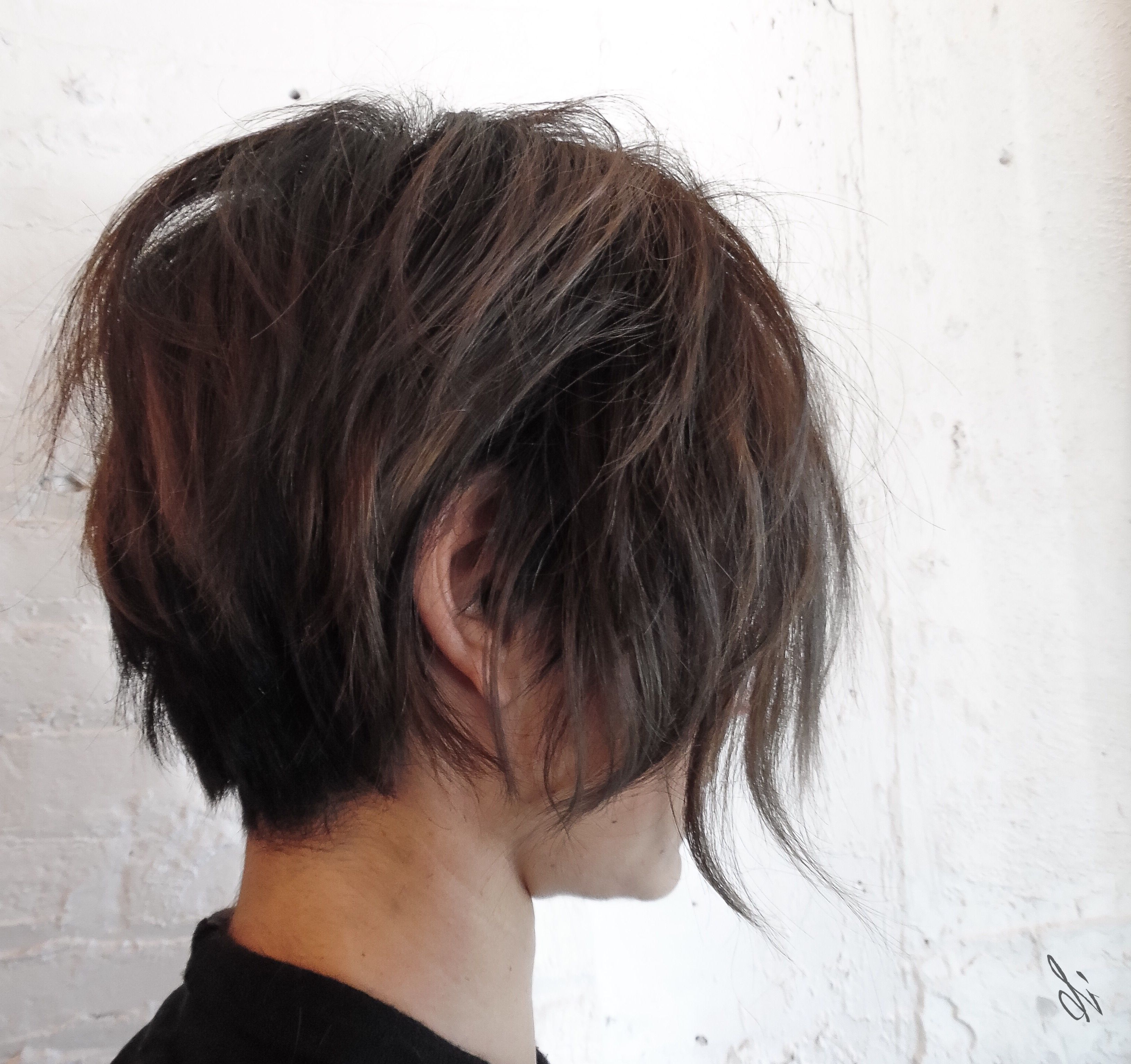 Well Liked Very Short Boyish Bob Hairstyles With Texture Throughout Cut#leighibdc (View 5 of 20)