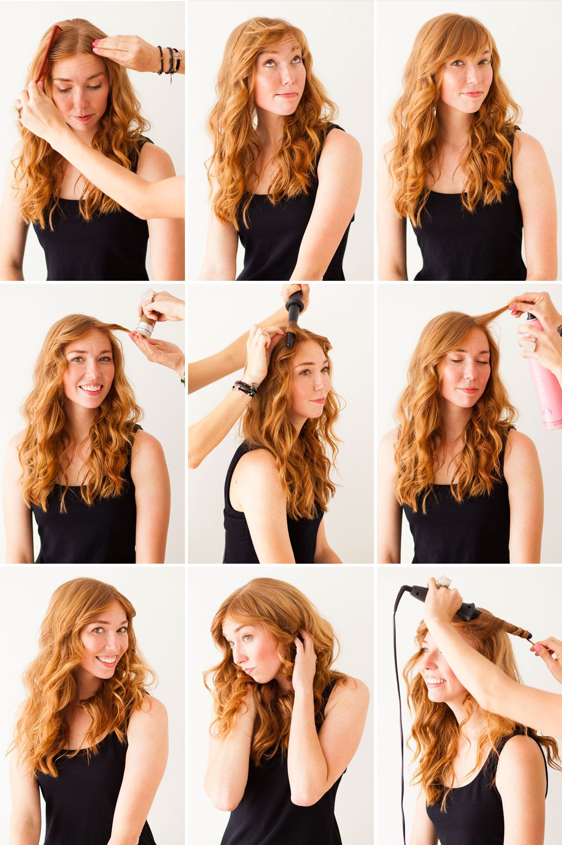 Widely Used Hairstyles With Fringes, End Curls And Headband Regarding 3 Genius Hair Tricks: The Faux Bob, Disappearing Bangs, And (View 20 of 20)